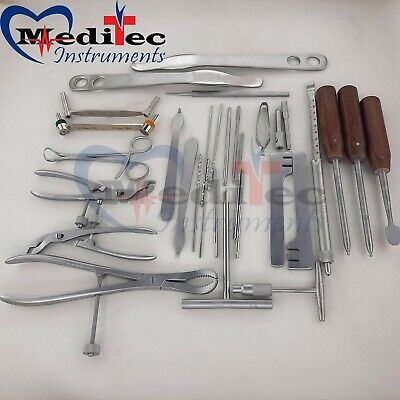 Small Fragment Instruments Set Orthopedic Surgical Mti