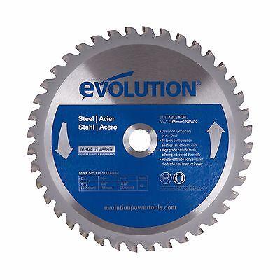 Evolution 6-12 Mild Steel Blade 165mm 6-12bladest