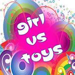 Girl vs Toys