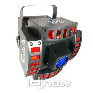 Chauvet Cubix LED RGB DJ DMX Dance Party Karaoke Effect Light