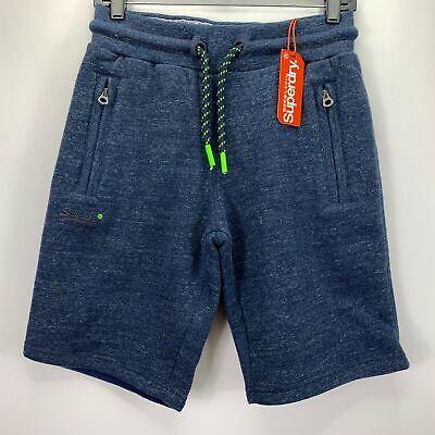 Superdry Mens Hyper Pop Casual Drawstring Shorts Blue XL