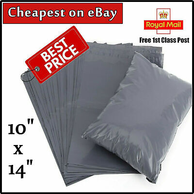 50x STRONG POLY MAILING BAGS 10