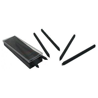 6 x Zeichenkohle Kohle Minen Kohlezeichnung schwarz hart 5,6 mm