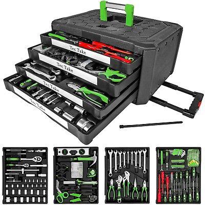 300 tlg Werkzeugkoffer Werkzeugkasten Werkzeugbox Werkzeugkiste mit 4 Schubladen