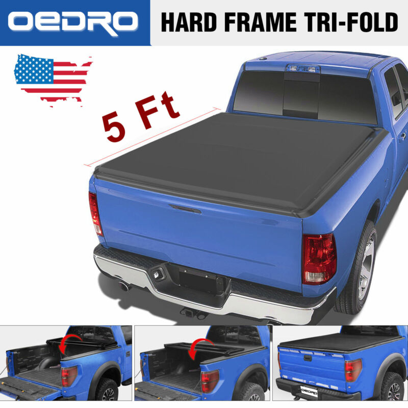 Soft Vinyl Tri Fold Truck Bed Cover Fit For 15 20 Colorado Canyon