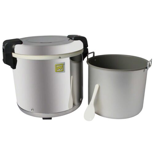 Thunder Group SEJ22000 Stainless Steel 50-Cup Rice Warmer
