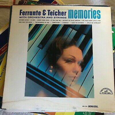 FERRANTE AND TEICHER, Memories with orchestra and strings, LP, -