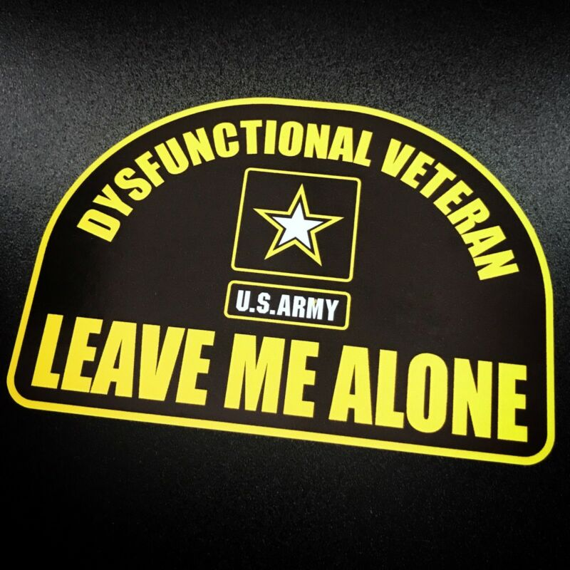 Dysfunctional Veteran ARMY Modern - Sticker