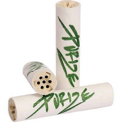 50 PURIZE Aktivkohlefilter Filter mit Keramikkappen Tune Pfeife (9 mm)