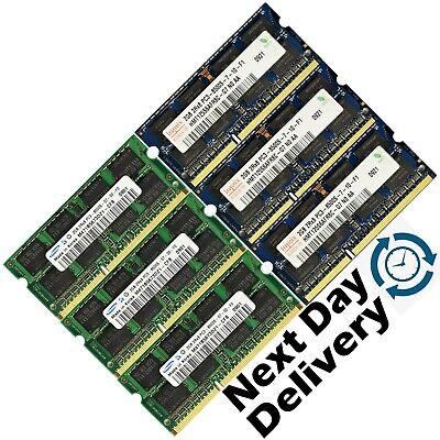 16GB 8GB 4GB Memory RAM Laptop Notebook PC3 8500 DDR3 1066 MHz 204PIN SoDIMM