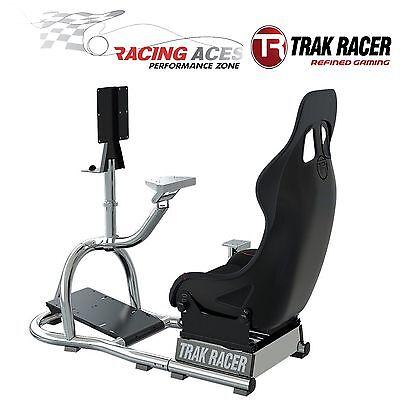 Racing-spiel Stuhl (RS8 Racing Spiel Simulator Cockpit Simulation Sitz Stuhl Race Gaming Trak Racer)