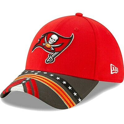 Tampa Bay Buccaneers New Era 2019 NFL Draft On Stage 39THIRTY Flex Hat