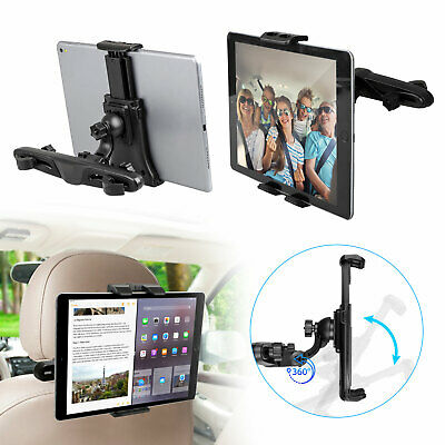 Car Back Seat Holder Mount Headrest For iPhone Samsung iPad