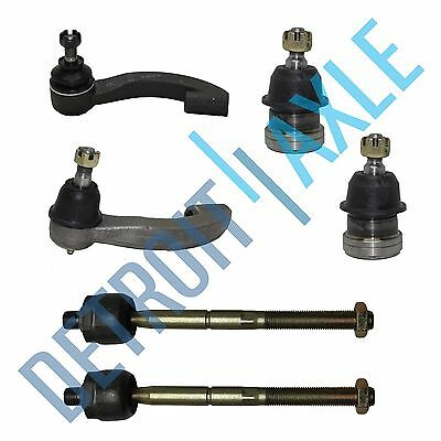 All 4 Inner  Outer Tie Rod Ends  Front Lower Ball Joints for Honda Civic