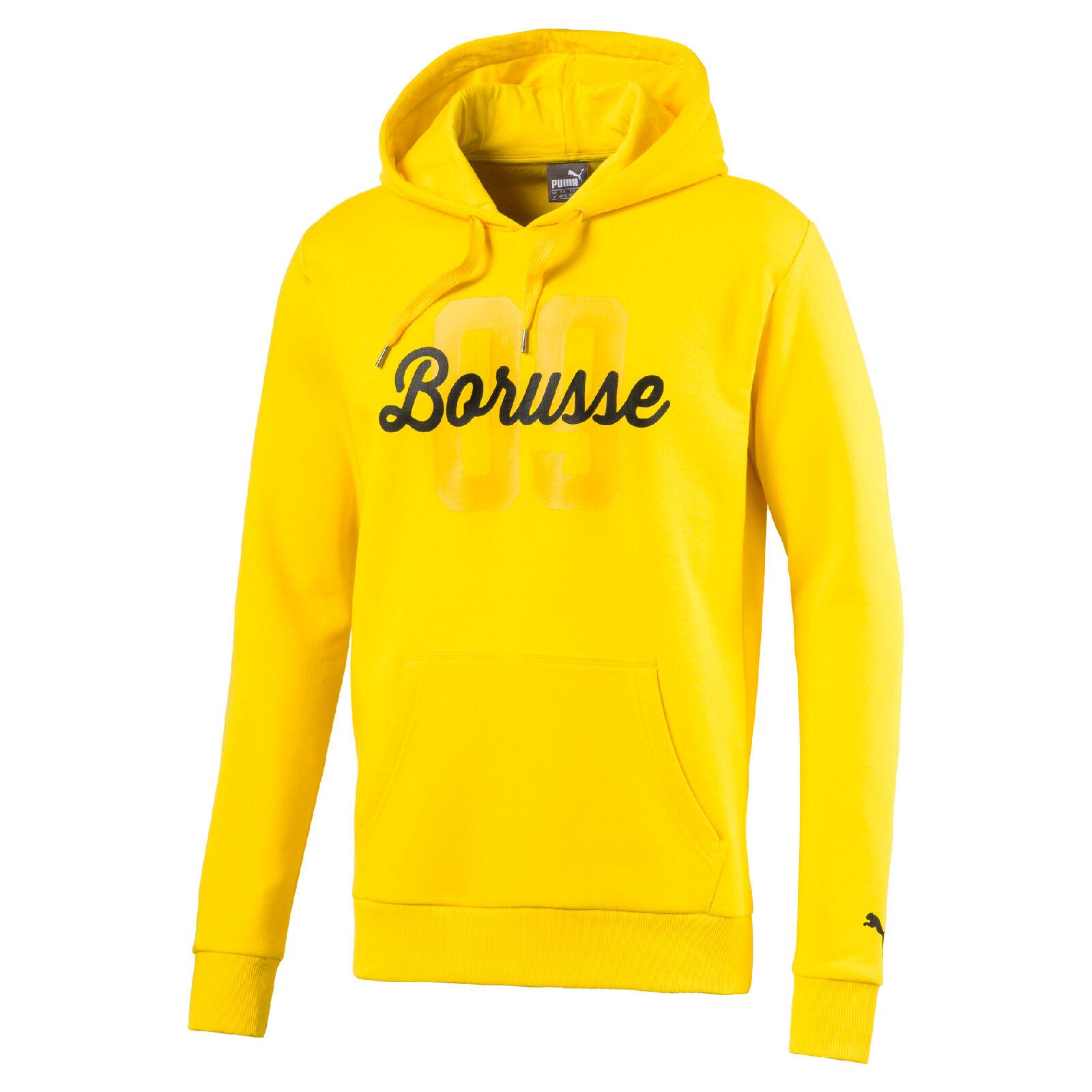 Puma BVB Borussia Dortmund BORUSSE Hoody Sweatshirt Gr.XXL 751828-01 UVP 64,95€