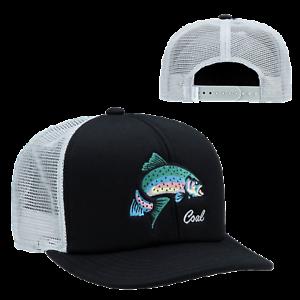 a8b38748955 Coal Headwear Wilds Trucker Hat - Men s Black   Rainbow One Size for ...