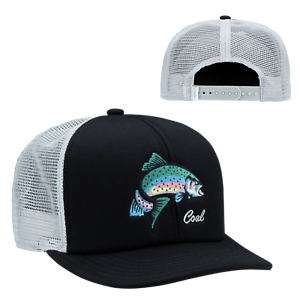 Buy Coal Headwear Wilds Trucker Hat - Men s Black   Rainbow One Size ... a2cad6af947