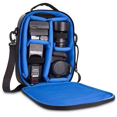 Naztech Camera Bag w/Modular Backpack Padded Insert To Keep Equipment Organized