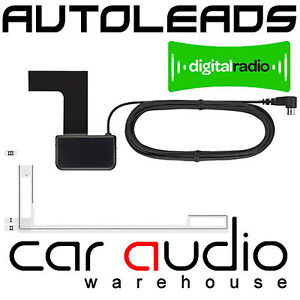 Kenwood-KDC-DAB4551U-Glass-DAB-Digital-Car-Stereo-Radio-Aerial-Antenna-DAB-AA1