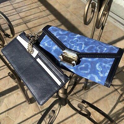 Michael Kors Women Envelope Clutch Card Holder Wallet Phone Case Purse Handbag