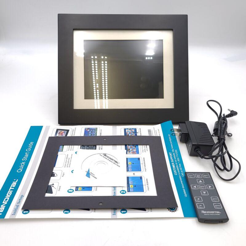 "Pandigital Panimage Black 8"" Digital Photo Frame With Remote"