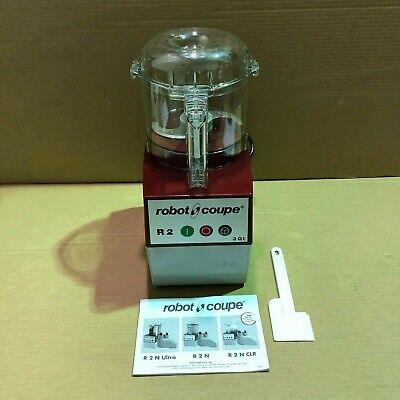 Robot Coupe R2b Clr Food Processor Commercial Cutter Mixer 3 Qt