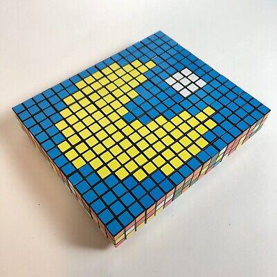 Pac Man Rubik's Cube Wall Art Picture -