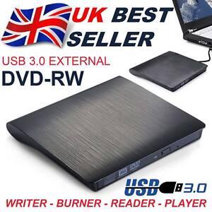 External USB 3.0 Drive DVD±RW CD RW Drive Burner Copier Writer Reader Rewriter