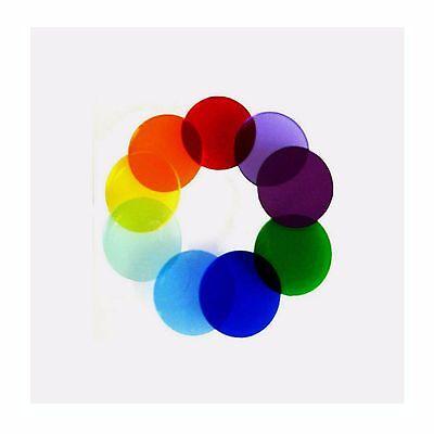 Microscope Colored Filter Set 32mm Diameter 0002