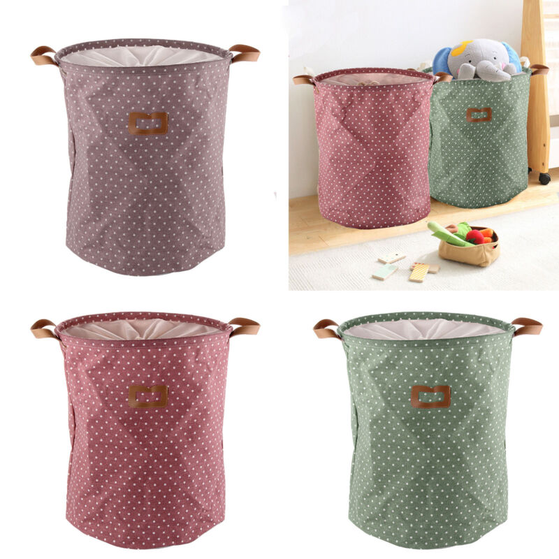 Dirty clothes basket laundry diamante washing bin foldable storage bag hamper ebay - Hamper for dirty clothes ...