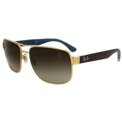 Ray-Ban Sunglasses 3530 001/13 Gold & Brown Brown Gradient