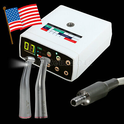 Dental Brushless Led Electric Micro Motor 15 Increasing Contra Angle For Nsk