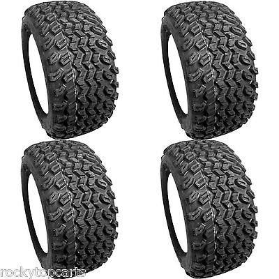 Set of 4 Golf Cart Tires 20x10.00-10 Excel Sahara 4 Ply For Club Car EZGO Yamaha