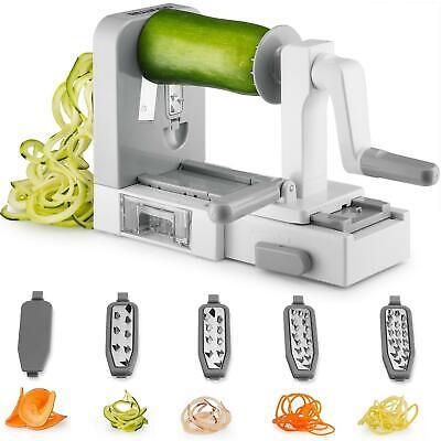 Vegetable Spiralizer Veggie Zucchini Spiral Slicer Pasta Noodle Spaghetti Maker