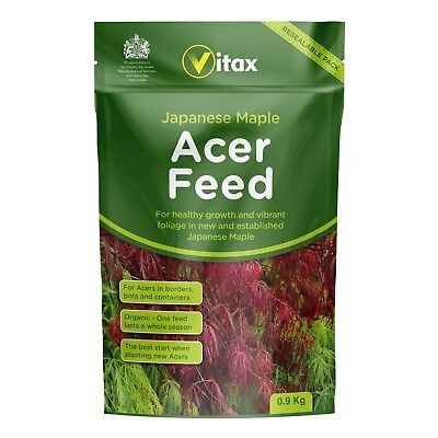 VITAX Acer Feed 0.9kg Resealable Pouch - For Healthy Growth & Foliage