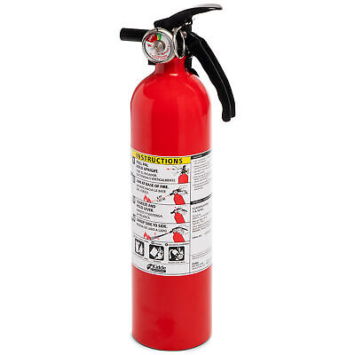Fire Extinguisher Home Car Auto Garage Kitchen Emergency 3.9 Lb 1-a10-bc New
