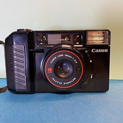 Canon SureShot AF35M II Film Camera 38mm F2.8 Lens Film TESTED Lomo Retro #3506
