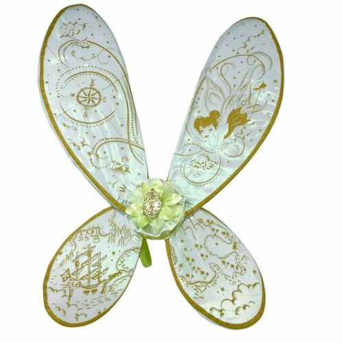 Disney Parks Light Up Glow TINKER BELL WINGS Child Fairy Halloween Costume NWT