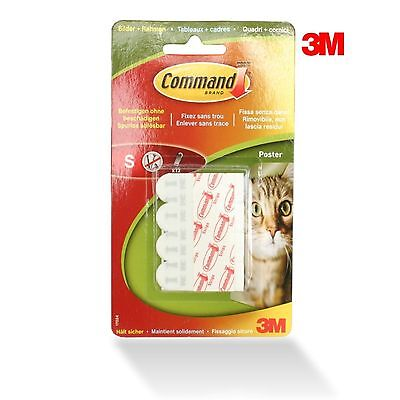 3M Command Poster Strips - posterstrips - 12 Klebestrips - Gr. S - 500 g Haftung