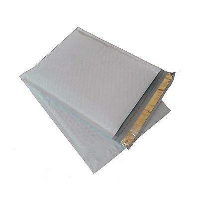 400 2 - 8.5x 12 Poly Plastic Bubble Padded Mailers Envelopes Bags 100 .4