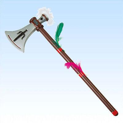 Tomahawk Axt f. Kostüm Indianer Indianerkostüm Indianerschmuck Jäger Waffe - Kostüm Tomahawk