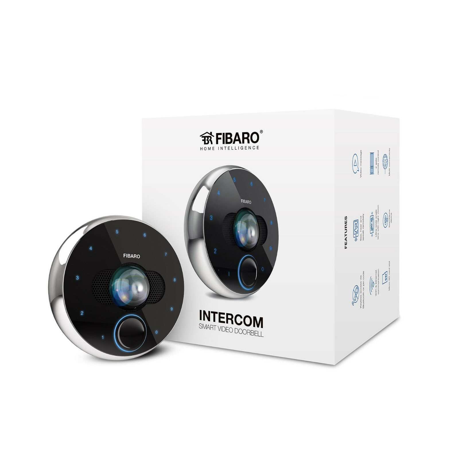 FIBARO - Smart Home INTERCOM FGIC-001 (Wi-Fi and Ethernet)