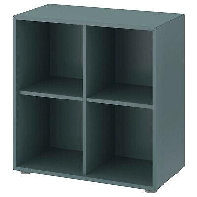 IKEA Estante 4 Compartimentos, de Libros Pared Aparador Armario 70x35x72 CM