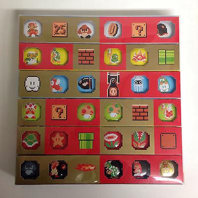 Super Mario Bros. 25th Anniversary Original Badge Collection Club Nintendo Japan