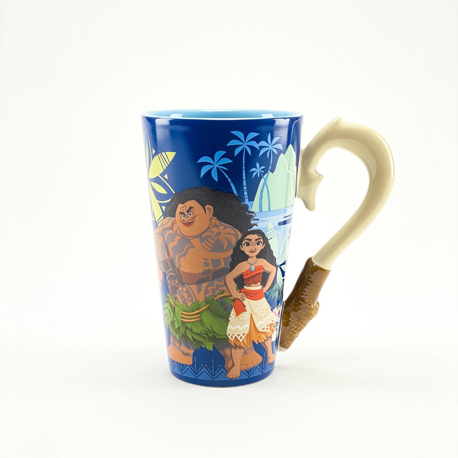 AUTHENTIC DISNEY STORE Moana Fishhook Mug