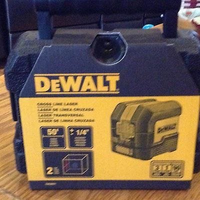 Dewalt Cross Line Laser DW08801 Self-Leveling Indoor cross laser B0176MY2M6 NEW
