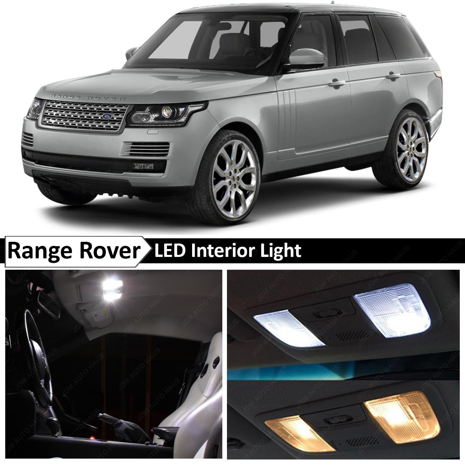 2002 Land Rover Range Rover Interior: 24x White LED Lights Interior Package 2006-2013 Land Rover