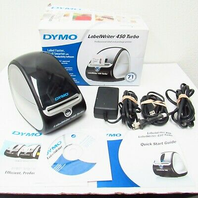 Dymo Labelwriter 450 Turbo Label Thermal Printer 1750283