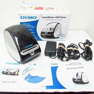 Dymo Labelwriter 450 Turbo Label Thermal Printer 1750283
