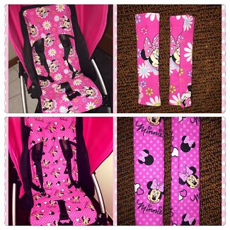 Custom made Pram Liners & Matching strap covers Canning Vale Canning Area Preview